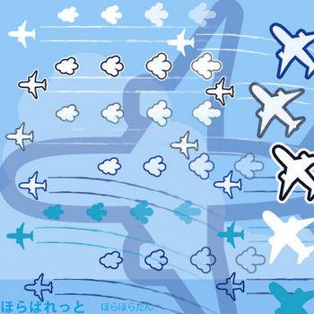 » 飛行機イラスト(シルエット) / 飛行機雲 と雲の矢印付き | 可愛い無料イラスト素材集