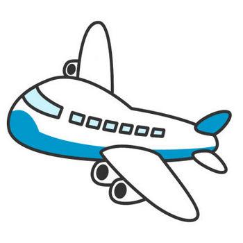 飛行機のイラスト | 無料フリーイラスト素材集【Frame illust】