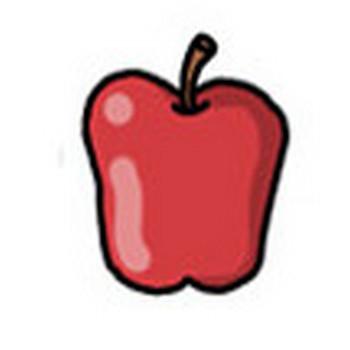 りんご イラスト素材 ( ホームページ ) - フリーのイラスト素材 イラストバンク - Yahoo!ブログ