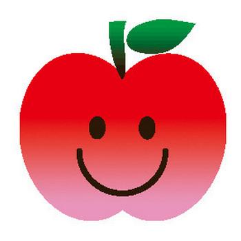(リンゴ)林檎のイラスト集/アイコン/背景画像(壁紙)=条件付フリー素材集