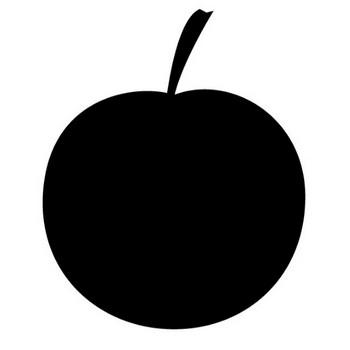 りんご|果物|フリーアイコン|クリップアート素材