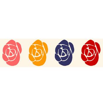 バラ  薔薇 イラスト 無料