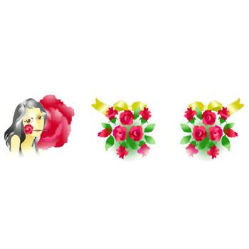 バラの背景素材・薔薇ばら★素材屋じゅん バラの背景素材・薔薇のフリー素材・壁紙