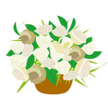 花のイラスト・フリー素材 ダウンロード01【素材っち】