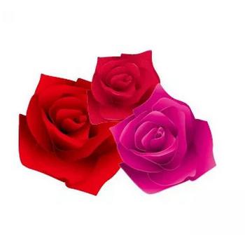 バラの花のイラスト | 【無料配布】イラレ/イラストレーター/ベクトル パスデータ保管庫【ai・eps ベクター素材】