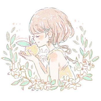 柚子(ユズ)の花言葉【5月6日の誕生花】フリーアイコン配布*