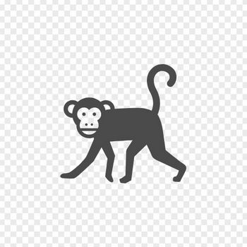 猿の無料イラスト   アイコン素材ダウンロードサイト「icooon-mono」   商用利用可能なアイコン素材が無料(フリー)ダウンロードできるサイト