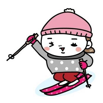画像 4/20 :スキー、スノボ、雪合戦…冬スポーツの無料イラスト [Web素材] All About