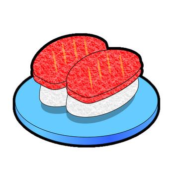 にぎり寿司のイラスト(2)|フリー素材 イラストカット.com