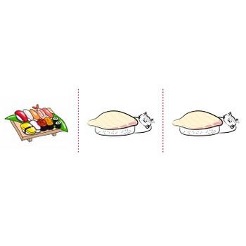 「お寿司」イラスト無料
