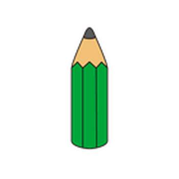 学校のイラスト素材-学校に関連したさまざまな小物類 | 子供と動物のイラスト屋さん わたなべふみ