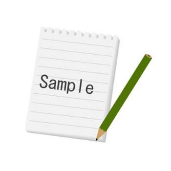 メモ、ノートパッドと鉛筆 : フリーイラスト帳:ベクター画像&シルエット素材