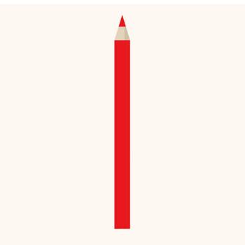 添削に!赤鉛筆(えんぴつ)のイラスト | 商用フリー(無料)のイラスト素材なら「イラストマンション」