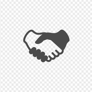 握手のイラスト | アイコン素材ダウンロードサイト「icooon-mono」 | 商用利用可能なアイコン素材が無料(フリー)ダウンロードできるサイト