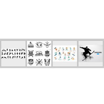 Snowboard に関するベクター画像、写真素材、PSDファイル   無料ダウンロード