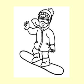 冬3/冬の季節・行事/無料イラスト【みさきのイラスト素材】