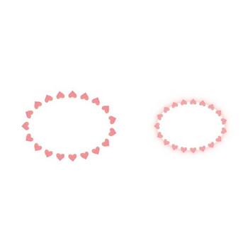バレンタインのフレーム | 無料イラスト かわいいフリー素材集 フレームぽけっと