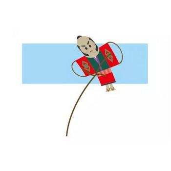 凧揚げのイラスト | 【無料配布】イラレ/イラストレーター/ベクトル パスデータ保管庫【ai・eps ベクター素材】