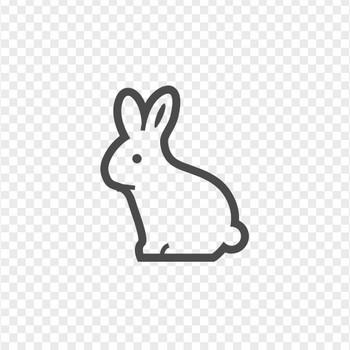 ウサギのフリーアイコンその2 | アイコン素材ダウンロードサイト「icooon-mono」 | 商用利用可能なアイコン素材が無料(フリー)ダウンロードできるサイト