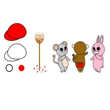 プリントデザイン用素材:10月イベントイラスト 無料ダウンロード | トヨシコー