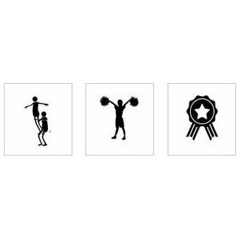 運動会|シルエット イラストの無料ダウンロードサイト「シルエットAC」
