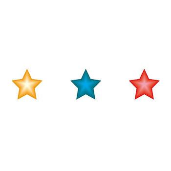 イラストポップのマーク素材 | 星の無料マーク素材