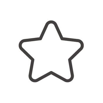角丸の星のアイコン素材 | 無料のアイコンイラスト集 icon-pit