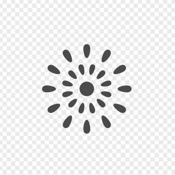 花火の無料アイコン | アイコン素材ダウンロードサイト「icooon-mono」 | 商用利用可能なアイコン素材が無料(フリー)ダウンロードできるサイト