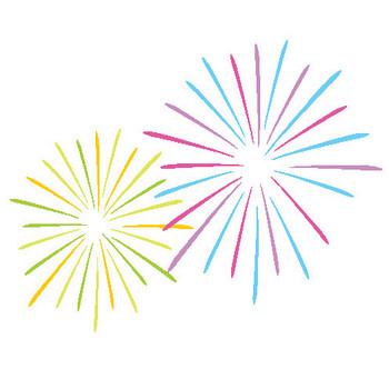 233 花火/Fireworks.gif - 素材庭園(フリーイラスト素材集) ~花・動物・食べ物・人物・雑貨他