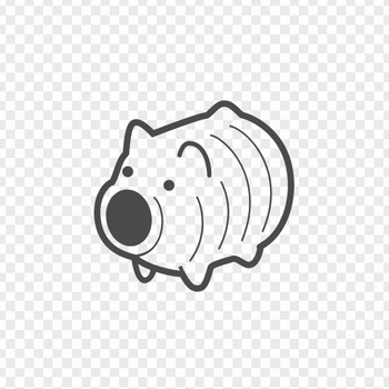 蚊取り豚の無料イラスト | アイコン素材ダウンロードサイト「icooon-mono」 | 商用利用可能なアイコン素材が無料(フリー)ダウンロードできるサイト