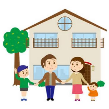 家族(イラスト) - パブリックドメインQ:著作権フリー画像素材集