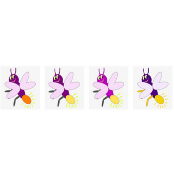 Purple Firefly2 Clip Art at Clker.com - vector clip art online, royalty free & public domain