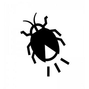 ホタルのシルエット | 無料のAi・PNG白黒シルエットイラスト