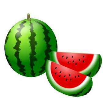 果物-スイカ イラスト 画像フリー素材 無料素材倶楽部