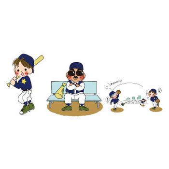 野球関係印刷向け   夢夢色TOWN