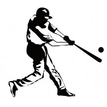 野球シルエット   フリー素材配布サイト。シルエット素材。aiデータ。商用フリー素材。