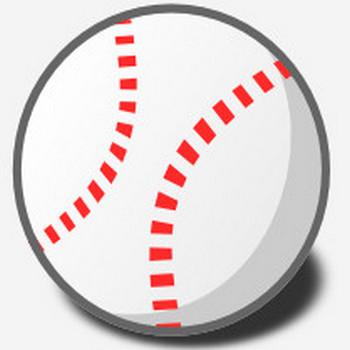 野球のボールのイラスト   無料イラスト作成ソフトInkscape(インクスケープ)の作品集