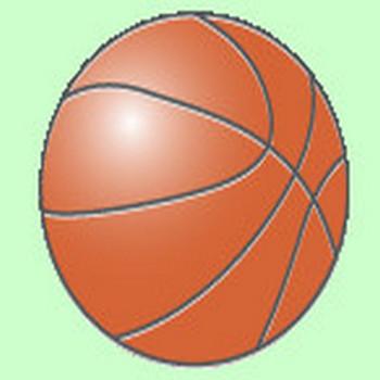 無料 WEB素材 イラスト スポーツ/バスケットボール