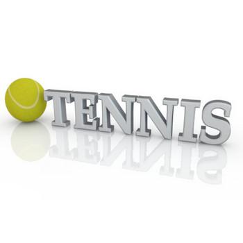 TENNIS|テニス - 3D文字|イラスト|フリー素材
