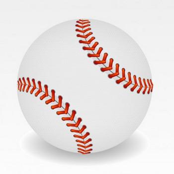 野球のボールのイラスト ベクター画像   無料ダウンロード