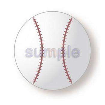 0088野球ボール/無料イラストai