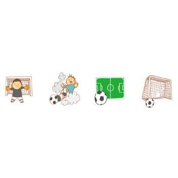 サッカーのイラスト | かわいいフリー素材が無料のイラストレイン