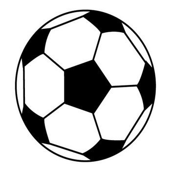 サッカーボール | 体育 | 運動 | ピクトグラム | フリー素材 | イラスト