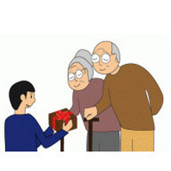 敬老の日のイラスト素材フリー
