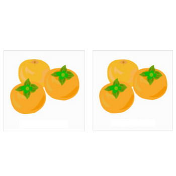柿のイラスト素材   イラスト素材パラダイス 商用利用無料のイラスト素材