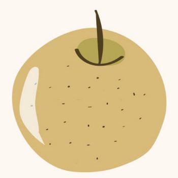 梨(なし)のイラスト!【秋のフルーツ】 | 商用フリー(無料)のイラスト素材なら「イラストマンション」