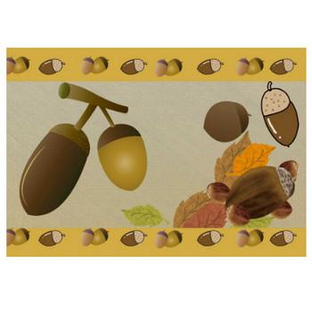 どんぐりイラスト - 可愛い木の実の無料素材集 - チコデザ