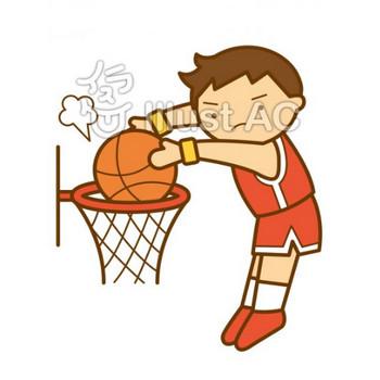 バスケットボール   無料フリーイラスト素材集 ぱこすと