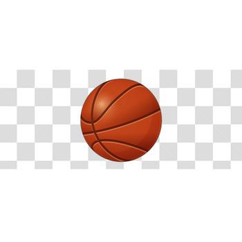 バスケットボールのフリーイラスト素材