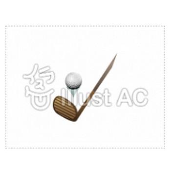 ゴルフイラスト/無料イラストなら「イラストAC」